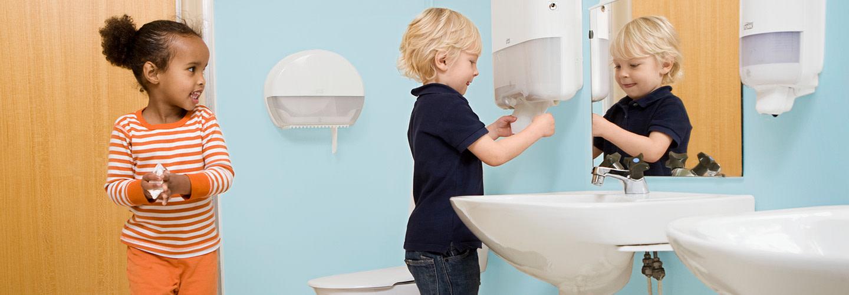 Lär barn god handhygien på ett lekfullt sätt