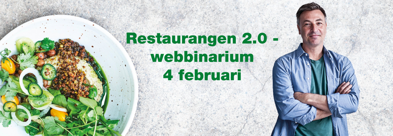 Webbinarium: Efter pandemin – restaurang 2.0