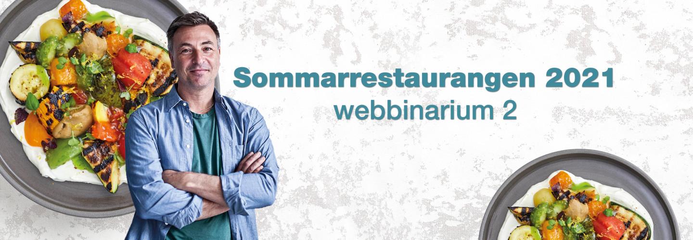 Webbinarium: Sommarrestaurangen 2021