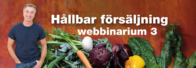 Webbinarium: Hållbar försäljning