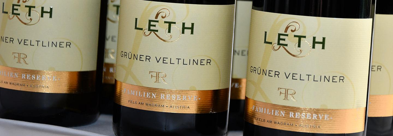 Familjeföretaget Weingut Leth i Österrike