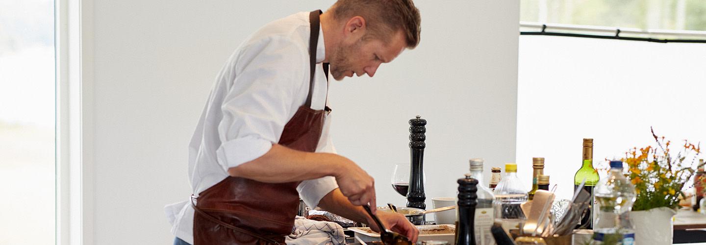 """""""Fredagskocken"""" Mattias Larsson, Modern Gastronomi"""
