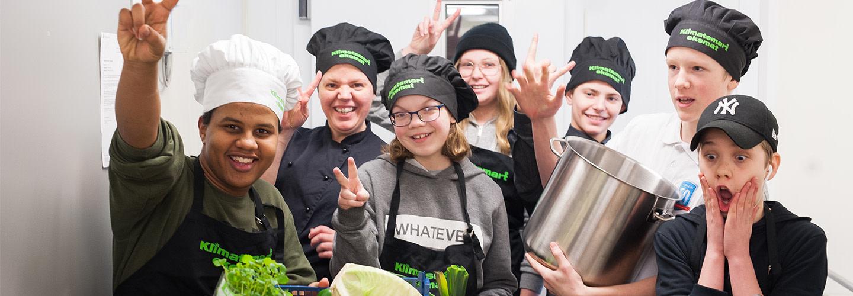 Bästa Matglädjeskola i Arla Guldko 2018 blev Slottsskolan i Vingåker