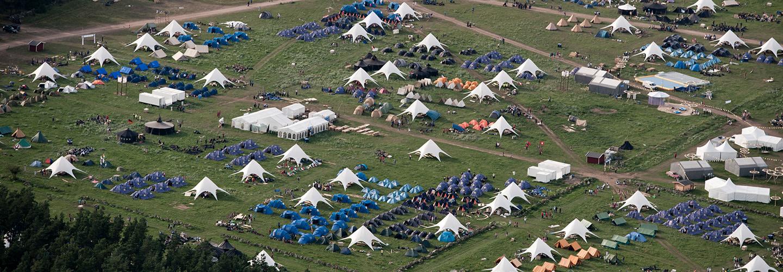 Martin & Servera är leverantör till Scouternas Jamboree17