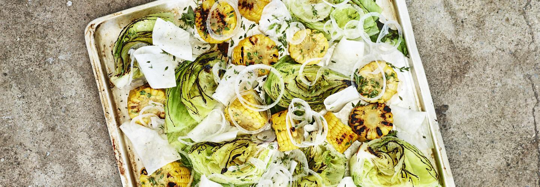 Skapa maträtten utifrån grönsakerna