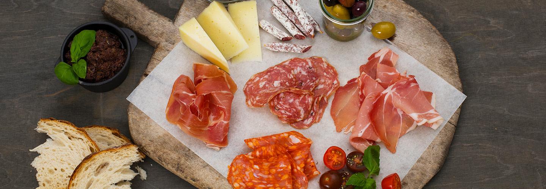 Italiensk ost och chark