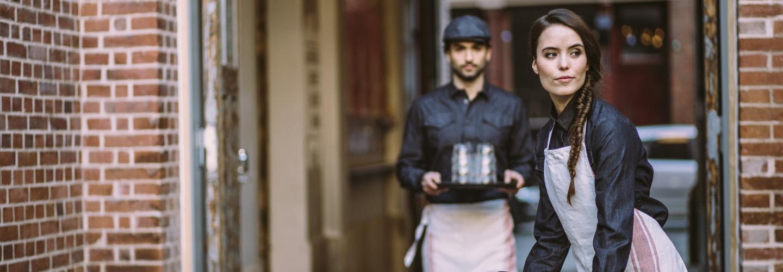 Dagens restaurangklädsel har karaktär och profilering
