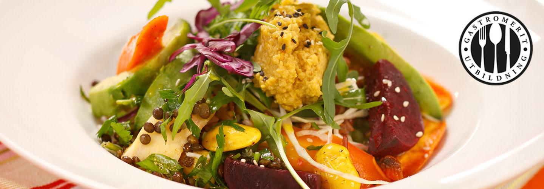 Laga vegetariskt till lunch, buffé och konferens