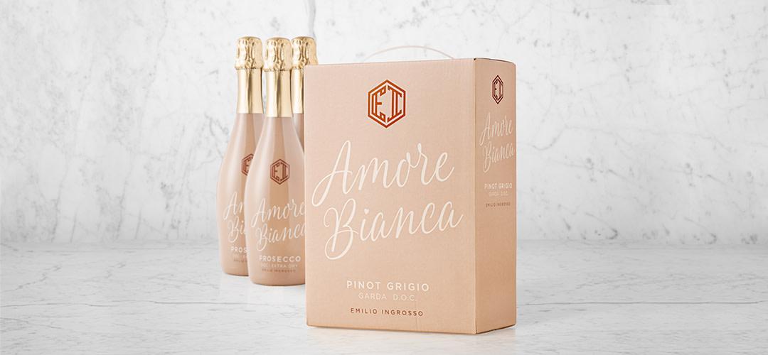 Krögarparet Åsa och Emilio Ingrosso lanserar Pinot Grigio på box – Amore Bianca Pinot Grigio