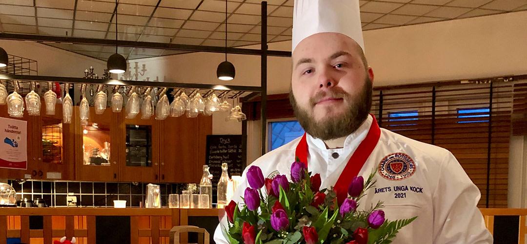 Pontus Lindgren är Årets Unga Kock 2021