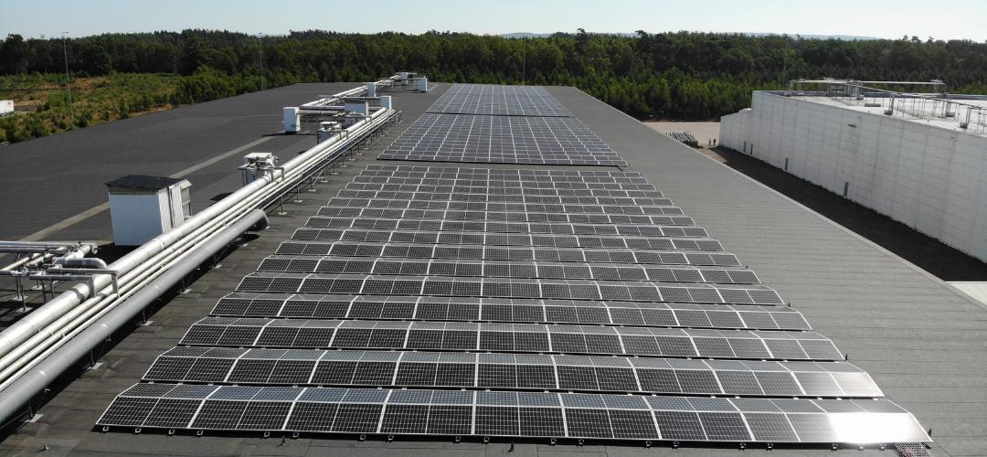 Vi dubblerar produktionen av solenergi med ny solcellsanläggning i Halmstad