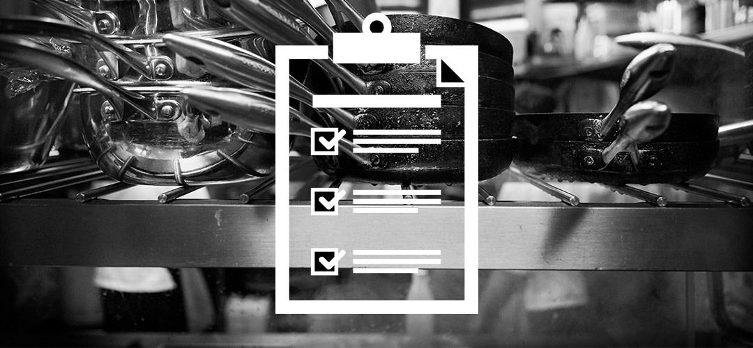 Checklista för restaurangföretagare