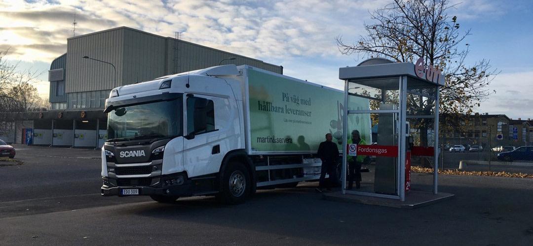 Vi investerar i hållbar fordonsflotta