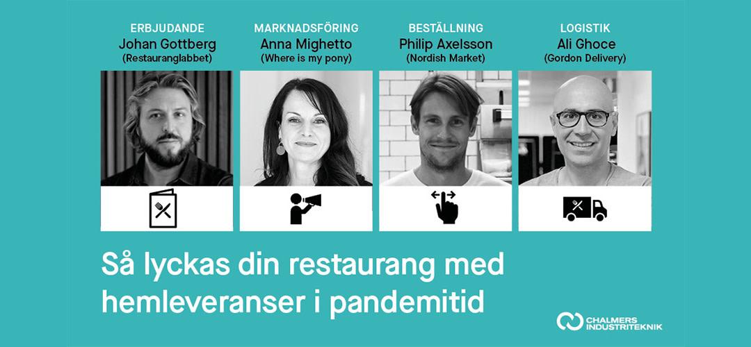 Webbinarium - Så lyckas din restaurang med hemleveranser i pandemitid