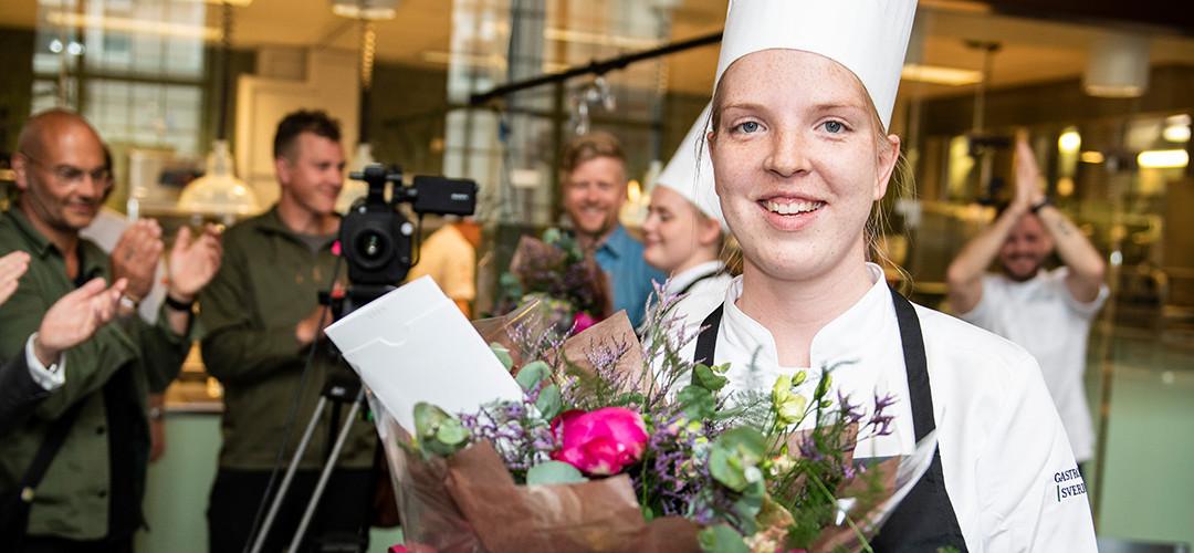 Thilda Mårtensson vinnare av den nya tävlingen Commis Award