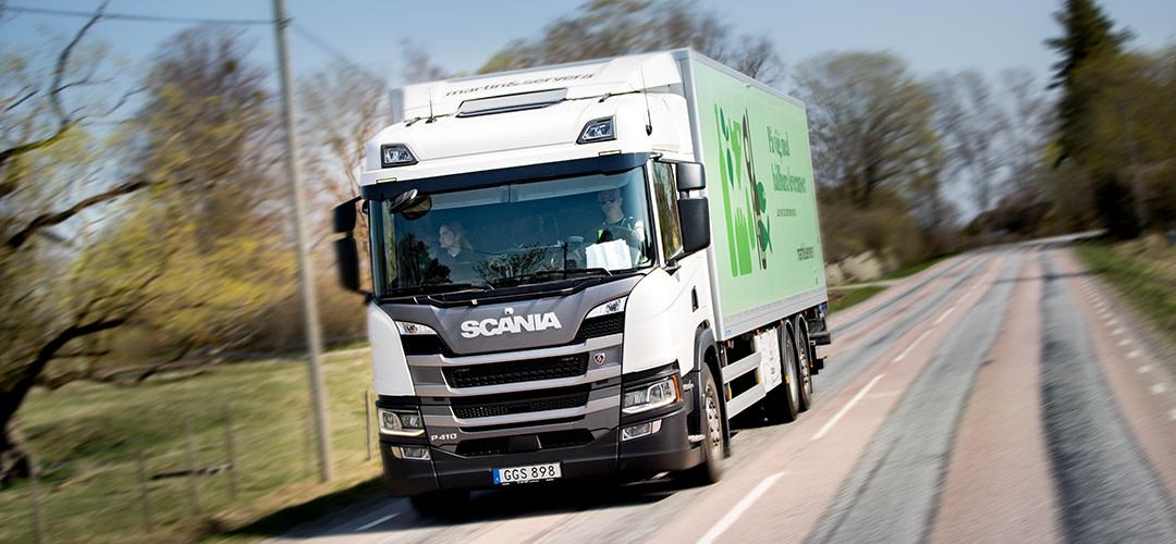 Martin & Servera digitaliserar leveransavisering
