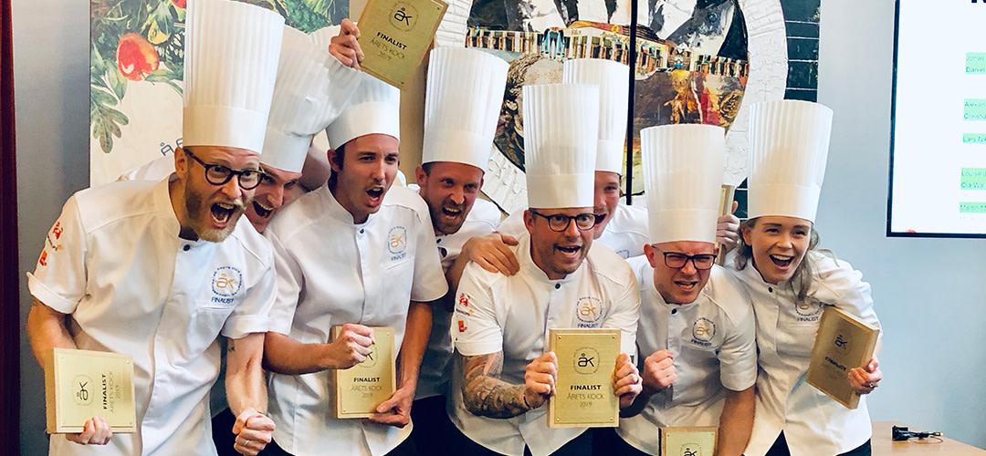 De blev finalister i Årets Kock 2019