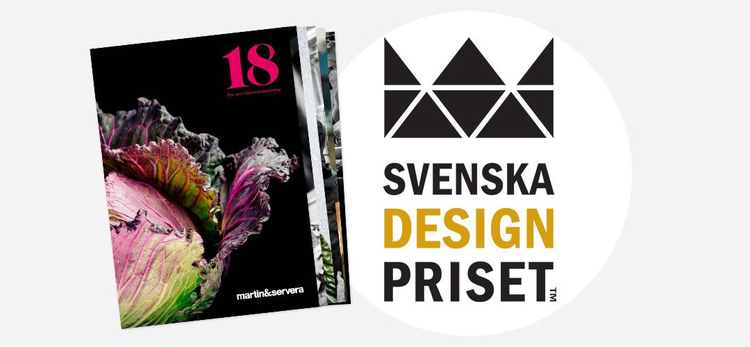 Nominering till Svenska Designpriset 2019