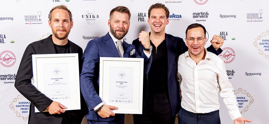 Vinnarna av Svenska Gastronomipriset framröstade av branschen