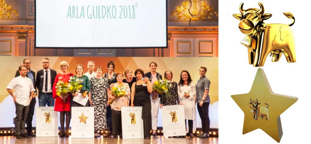 Årets vinnare i Arla Guldko