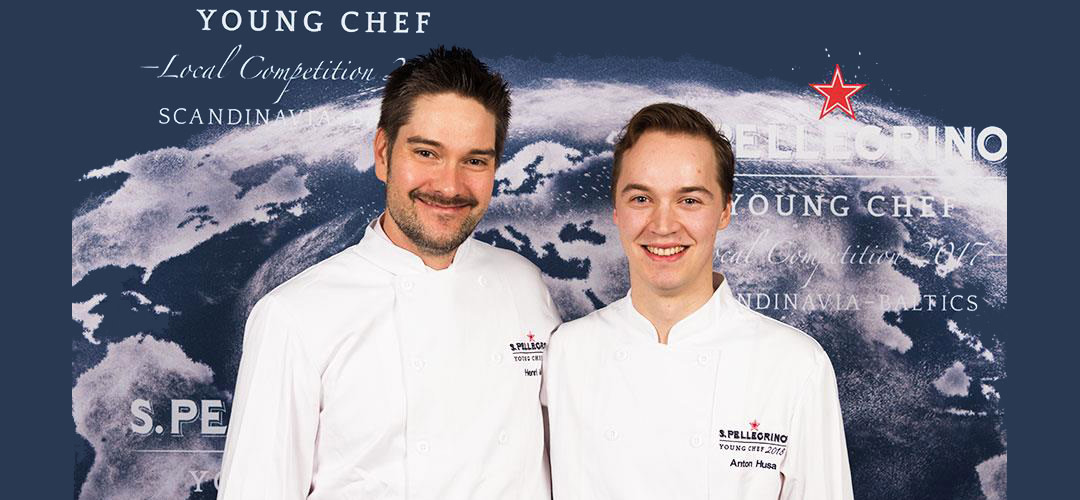 Anton Husa är regionsvinnare i S.Pellegrino Young Chef 2018