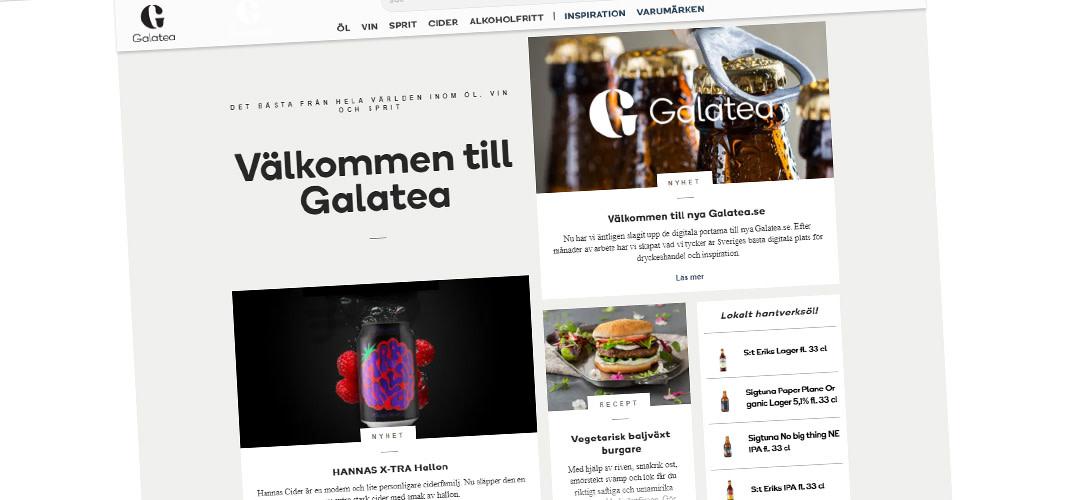 Galatea lanserar ny e-handel för restaurangbranschen
