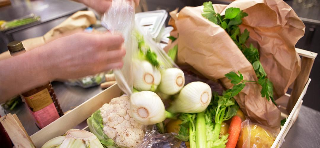 Restauranger räddar matsvinn!