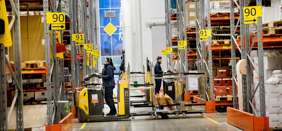 Flytt till nytt lager i Norrköping i höst