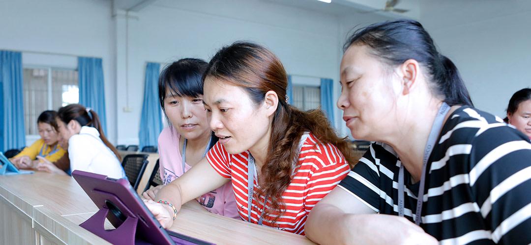 Förbättringar i arbetsmiljön i kinesiska fabriker