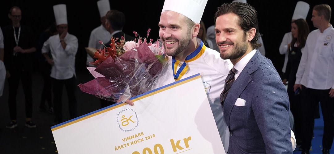 David Lundqvist vann Årets Kock 2018