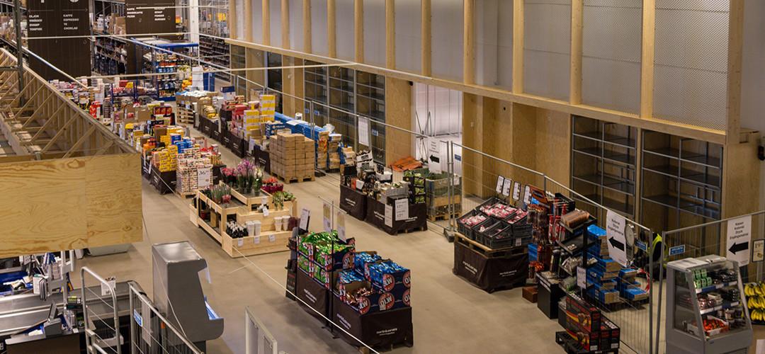 Dotterbolaget Martin & Servera Restaurangbutiker inviger nyrenoverad butik i Årsta